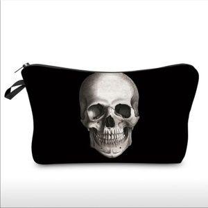 Handbags - 3D Printed Skull Cosmetic Bag